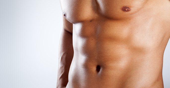 Лазерна епилация гърди и корем
